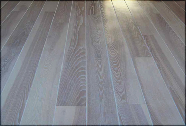 white wash floor london - Distressed White Wood Flooring
